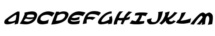 Ephesian Italic Font LOWERCASE