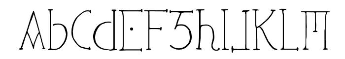 Ephotical Font UPPERCASE