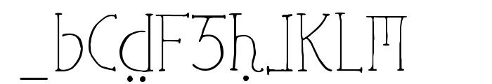Ephotical Font LOWERCASE