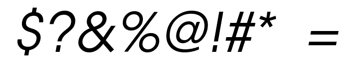 EpicFusion-Italic Font OTHER CHARS