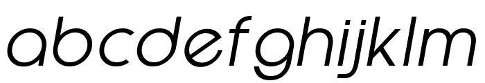 EpicFusion-Italic Font LOWERCASE