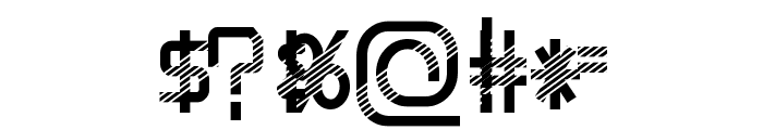 EpicenterDisco Font OTHER CHARS