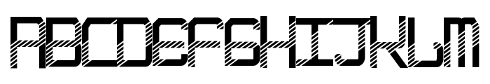 EpicenterDisco Font UPPERCASE