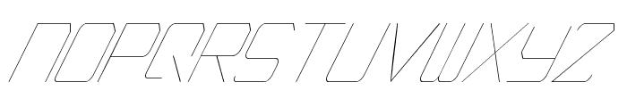 EpicenterThinItalic Font UPPERCASE