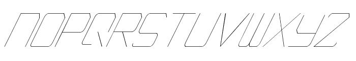 EpicenterThinItalic Font LOWERCASE