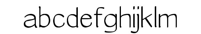 Epifan Font LOWERCASE
