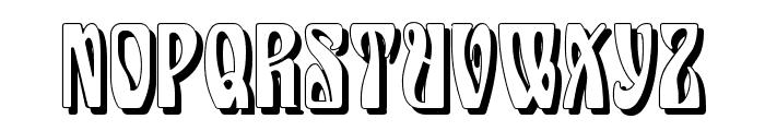 Epoque Shadow Font UPPERCASE