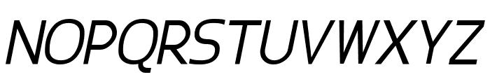 Epsy Sans Italic Font UPPERCASE