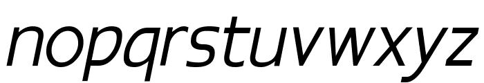 Epsy Sans Italic Font LOWERCASE