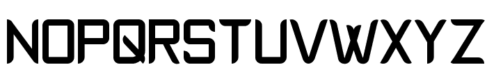 Epyval Font UPPERCASE