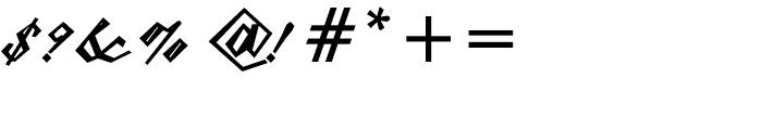 Epaulet Bold Font OTHER CHARS