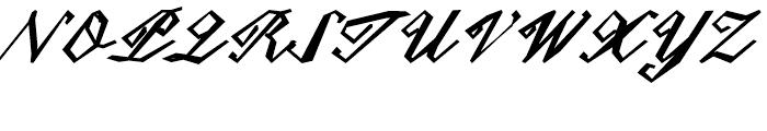 Epaulet Bold Font UPPERCASE