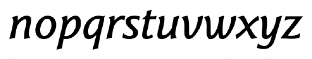 Epigraph Bold Italic Font LOWERCASE