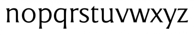 Epigraph Regular Font LOWERCASE