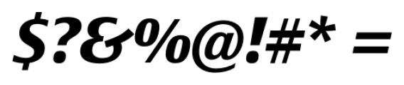 Epoca Classic Bold Italic Font OTHER CHARS
