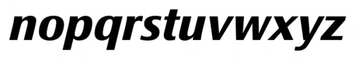 Epoca Classic Bold Italic Font LOWERCASE