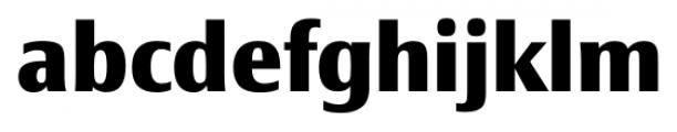 Epoca Classic ExtraBold Font LOWERCASE