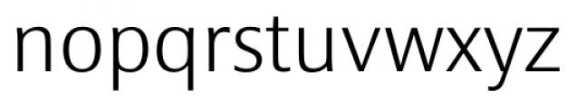 Epoca Classic ExtraLight Font LOWERCASE