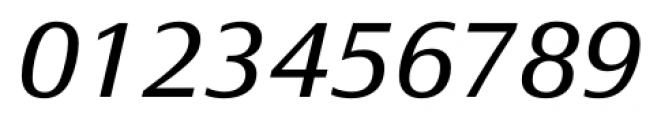 Epoca Classic Italic Font OTHER CHARS