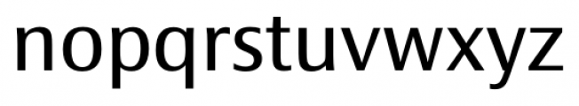 Epoca Classic Regular Font LOWERCASE