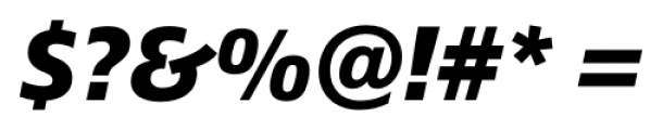 Epoca Pro Bold Italic Font OTHER CHARS