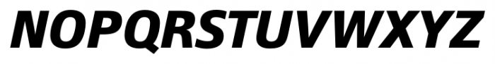 Epoca Pro Bold Italic Font UPPERCASE