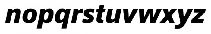 Epoca Pro Bold Italic Font LOWERCASE