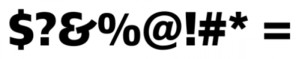 Epoca Pro  Bold Font OTHER CHARS