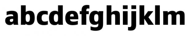 Epoca Pro  Bold Font LOWERCASE