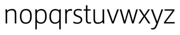 Epoca Pro Light Font LOWERCASE