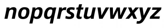 Epoca Pro Medium Italic Font LOWERCASE