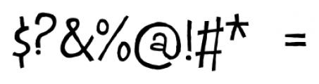 Epsiolet Regular Font OTHER CHARS