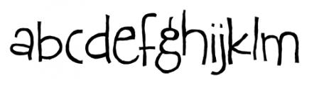Epsiolet Regular Font LOWERCASE