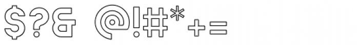 Ephesus Bold Outline Font OTHER CHARS