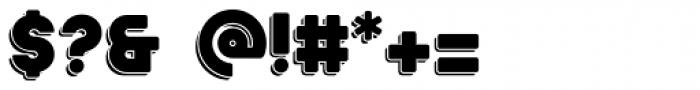 Ephesus ExtraBold Shadow Font OTHER CHARS