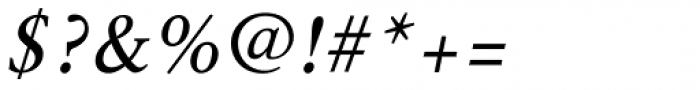 Epic Normal Italic Font OTHER CHARS