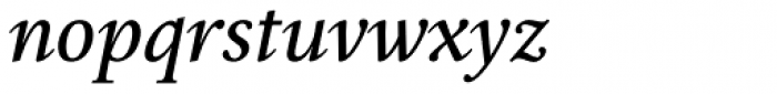 Epic Normal Italic Font LOWERCASE