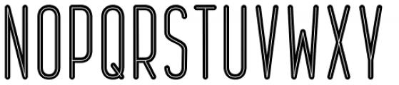 Epicentrum Regular Font UPPERCASE