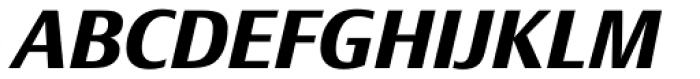 Epoca Classic Bold Italic Font UPPERCASE