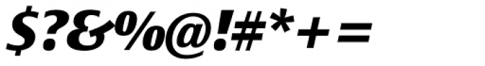 Epoca Classic ExtraBold Italic Font OTHER CHARS