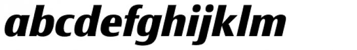 Epoca Classic ExtraBold Italic Font LOWERCASE