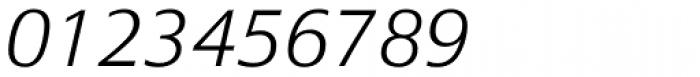 Epoca Classic ExtraLight Italic Font OTHER CHARS