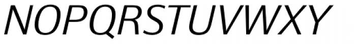 Epoca Classic Light Italic Font UPPERCASE