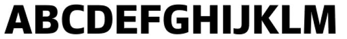 Epoca Pro Bold Font UPPERCASE