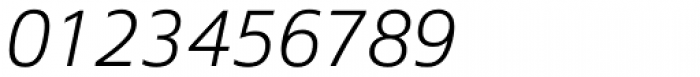 Epoca Pro Light Italic Font OTHER CHARS