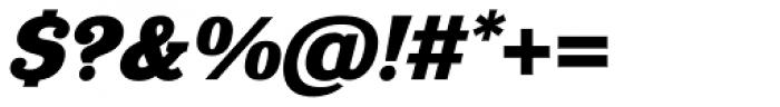 Eponymous Black Italic Font OTHER CHARS