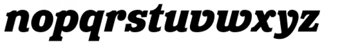 Eponymous Black Italic Font LOWERCASE