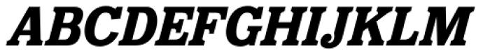 Eponymous Bold Italic Font UPPERCASE