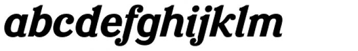 Eponymous Bold Italic Font LOWERCASE