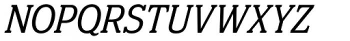 Eponymous Italic Font UPPERCASE